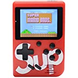 "Handheld Game Console for Children,Retro Game Player with 2.5"" 8-Bit LCD Portable Video Games,The 80's Arcade Video Gaming System,Built-in 129 Classic Old School Games Entertainment-Red"
