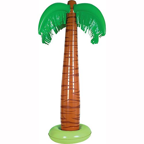 Inflatable Palm Tree Party Accessory (1 count) (1/Pkg) -