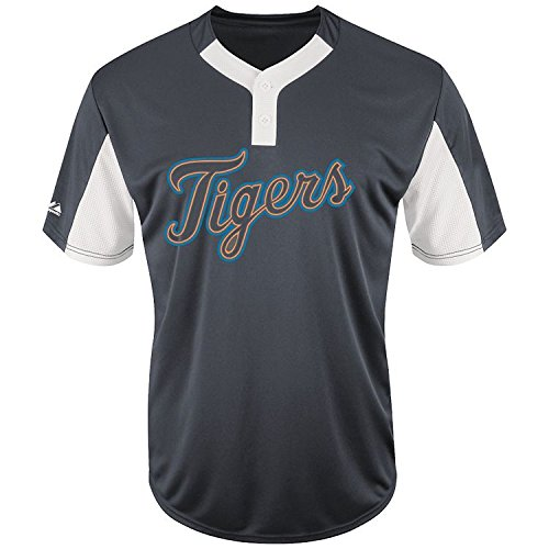 Adult Medium Detroit Tigers NEW MLB Color Block Jersey – DiZiSports Store