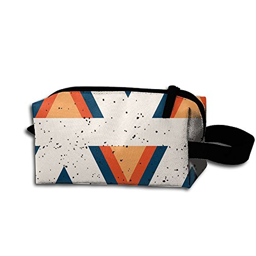 Unisex Design Retro Arrowhead Pattern Portable Make-up Receive Bag Hand Cosmetic Bag Makeup Bag Sewing Kit Medicine Bag For - Arrowhead Shopping