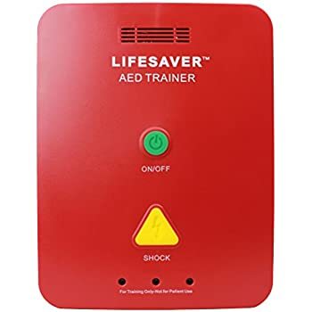 Amazon.com: CPR Savers Lifesaver AED Trainer (dispositivo de ...