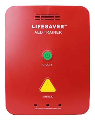 CPR Savers Lifesaver AED Trainer (Training Device for CPR and Defibrillators) - Training Defibrillator