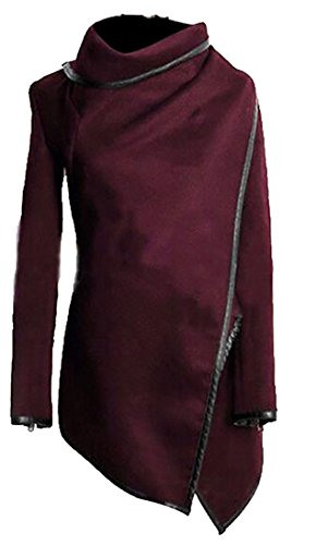 womens cowl neck jacket - 6