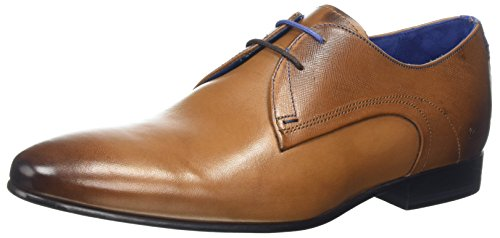Ted Baker Mens Tan Leather Peair Shoes-UK - Ted Baker Stockist