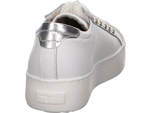 Tamaris Basse White Scarpe 23770 da Leather Donna Ginnastica AwTAUrxaq