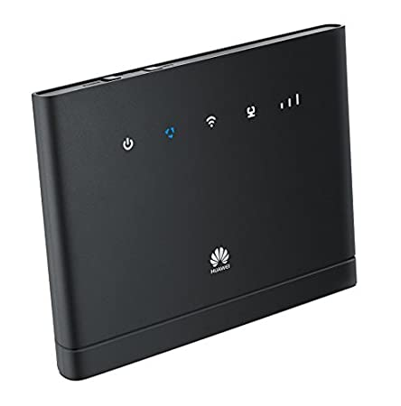 Unlocked to all Networks Certified Refurbished 4G Wi-Fi Router Black No Configuration Required Huawei B315 High-speed Wireless Home Router