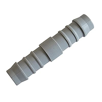"""Tefen Fitting Hose Connector 1/4"""" 10 Pack"""