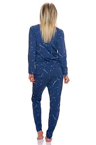 Fashion - Chándal - relaxed - Básico - Manga Larga - para mujer Azul