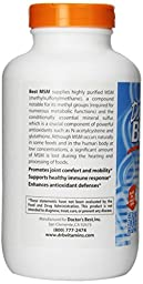 Doctor\'s Best Best MSM Capsules,1000mg, 360 Count