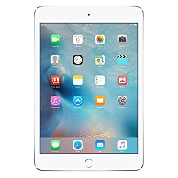 Apple iPad Mini 4 Tablet (7.9 inch, 128GB, Wi-Fi+3G) Silver Tablets at amazon