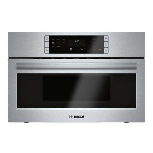 "Bosch HMB50152UC 500 Series 30"" Built-In Microwave Oven in Stainless Steel"