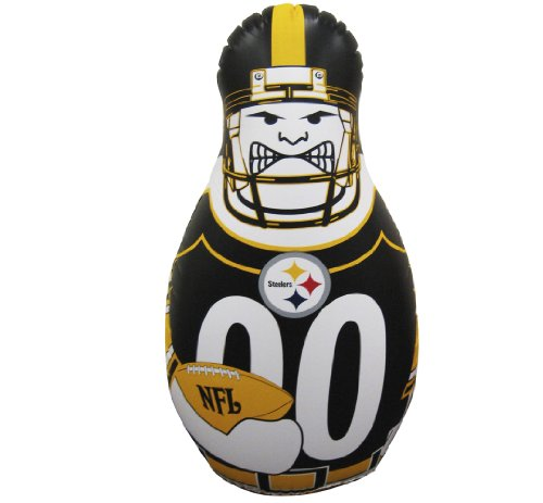 NFL Pittsburgh Steelers 40-Inch Inflatable Tackle Buddy by Fremont Die (Image #1)