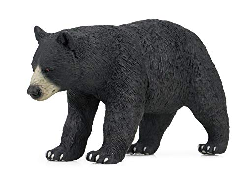 Geminismart Famous in-Home Learning Brand Black Bear Toys Figure Animal Early Science Education and Collectible Action Figure as Kids Party Supplies Gift for Children