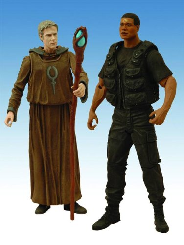 Stargate SG-1 Season 10 Daniel and Tealc Action Figure, Two-Pack