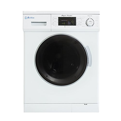 Compact Combo Washer and Electric Dryer with Optional Condensing/Venting and Sensor Dry in White