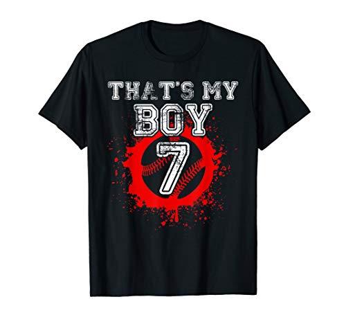 That's My Number 7 Thats My Boy Baseball T-Shirt