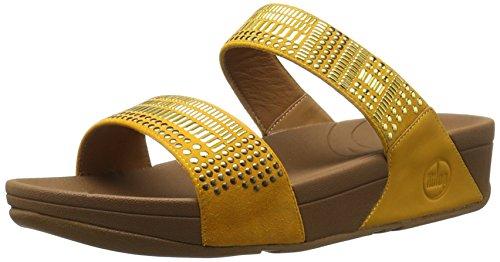 Fitflop Femmes Aztec Chada Diapositive Sandale Tournesol