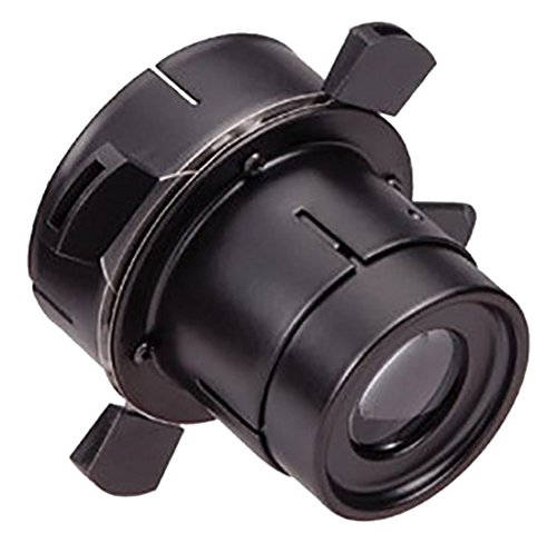 (WAC Lighting Lighting FP-K-BK Framing Projector for SiloX10, or Silo X20 Track Head in Black Finish)