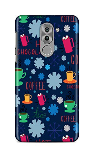 Shengshou Mobile Back Cover for Huawei Honor 6X Design Hot Chocolate Coffee ABC562T34408