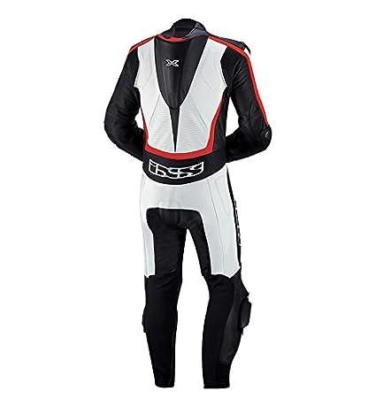 Amazon.com: IXS Thruxton Suit, Blanco/Negro/Rojo: Automotive