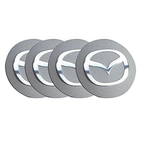4pcs C009 56.5mm Car Styling Accessories Emblem Badge Sticker Wheel Hub Caps Centre Cover MAZDA 2 3 6 ATENZA AXELA CX-5 CX-7 CX-8