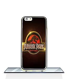 JenniferLi - Iphone 6 6s (4.7 inch) Funda Case Jurassic World Logo Movie 2 in 1 [Dual-Layer] Designs [Scratch-Proof] Skin Soft TPU Bumper with Hard PC Funda Case & Cover