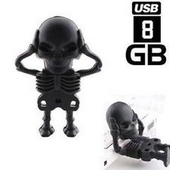 32GB Cute Black Guitar Style USB 2.0 Flash Stick Memory Pen Thumb - 1
