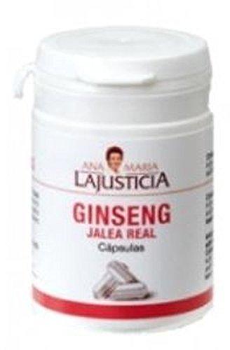 Jalea Real con Ginseng 60 cápsulas de Ana Maria Lajusticia: Amazon.es: Salud y cuidado personal