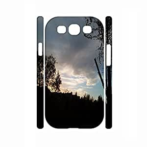 Custom Romantic Scenery Series Sunset Graphic Shockproof Hard Plastic Cell Phone Case For Samsung Galaxy S3 I9300 WANGJING JINDA