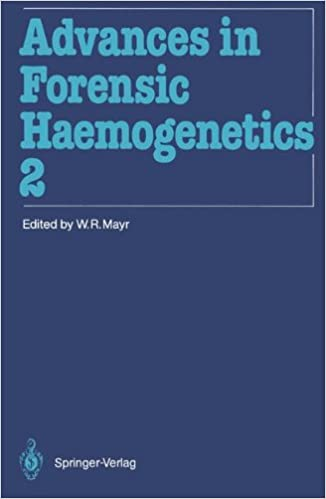 Livres électroniques gratuits à télécharger au format epub Advances in Forensic Haemogenetics: 12th Congress of the Society for Forensic Haemogenetics (Gesellschaft für forensische Blutgruppenkunde e.V.) Vienna, August 26-29, 1987 3540187650