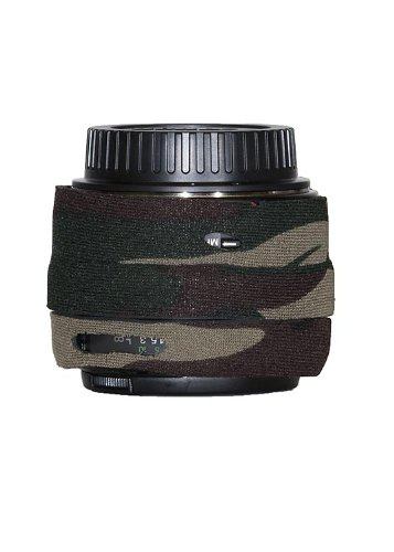 LensCoat LC5014FG Canon EF 50mm f/1.4 USM Lens Cover (Forest Green Camo)