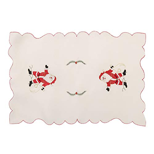 Afazfa Fork Placemat Mat Decoration Home Party Christmas Dining Table (B) (Table Pod Dining)