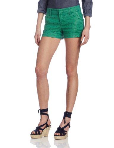 Level 99 Women's Gina Paisley Short, Cabana Green 28