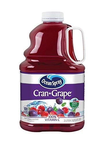 Drinks Grape Juice - Ocean Spray Juice Drink, Cran-Grape, 3 Liter Bottle