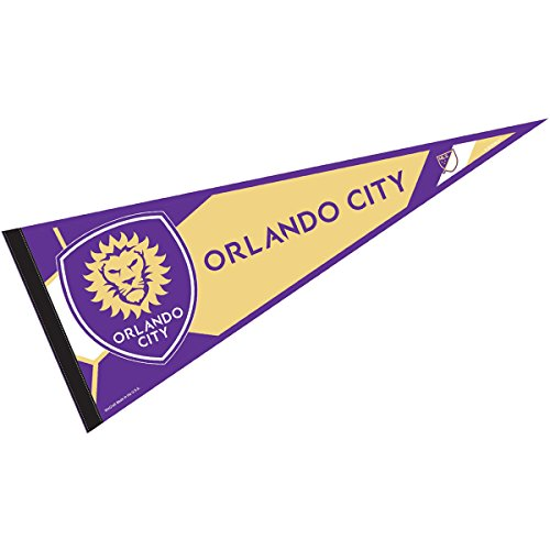 Club Pennant - Orlando City Soccer Club Pennant and 12