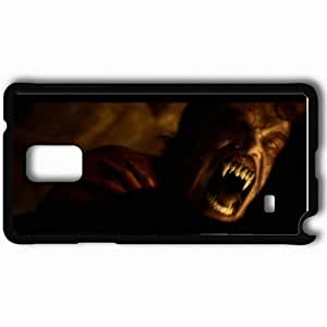 Personalized Samsung Note 4 Cell phone Case/Cover Skin Abraham Lincoln Vampire Hunter Black