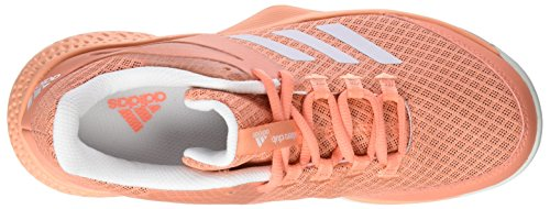 adidas Damen Adizero Club Tennisschuhe Pink (Chalk Coral/Footwear White/blue tint)