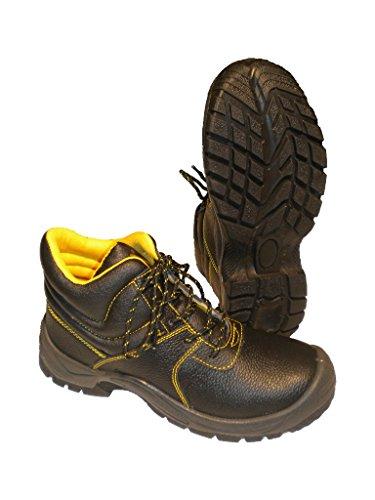 Seba 621Nm Schuh hohe, Schwarz No Metal S3, Größe 48