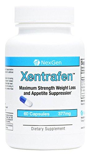 Xentrafen- максимальную прочность таблетки для похудения для потери веса и подавления аппетита. Невероятный подавления аппетита и потеря веса с устойчивым энергии, внимания и повысить настроение! 60 капсул - 377mg в капсуле.