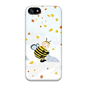 New Arrival Case Cover With TDeKrvi2101VrDHO Design For Iphone 5/5s- Autumn Halloween October
