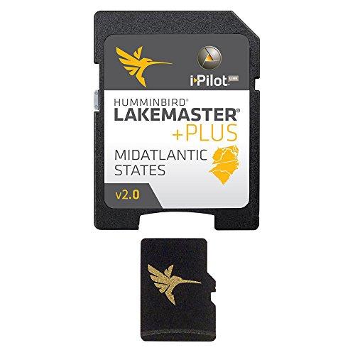 Humminbird LakeMaster Mid Atlantic States PLUS - MircoSD™ - Version 2. 0