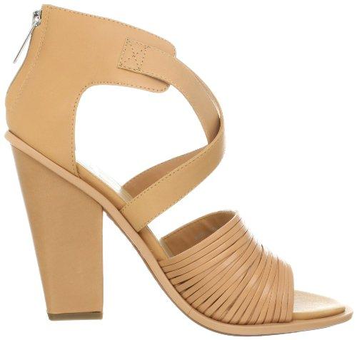 Dolce Vita Nona Offener Spitze Leder Sandale Nude Leather
