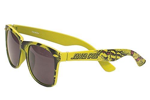 SANTA CRUZ SUNGLASSES Rob Roskopp Face Yellow - Santa Cruz Sunglasses