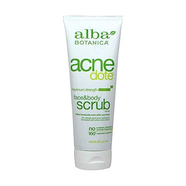 Natural Acnedote Face & Body Scrub | Skin Whitening Scrub At Home