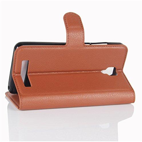 Funda Libro para Doogee X10, Manyip Suave PU Leather Cuero Con Flip Cover, Cierre Magnético, Función de Soporte,Billetera Case con Tapa para Tarjetas C