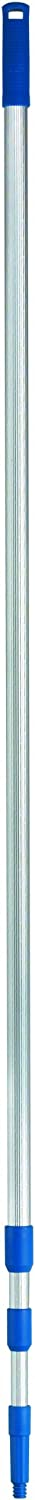 Ettore 43012 Extension Pole, 12', Silver, Blue