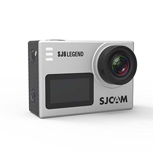 SJCAM SJ6 Legend 2' Touch Screen Remote Action Helmet Sports DV Camera Waterproof 4K 1080P 24FPS Action Camera (Silver) by SJCAM