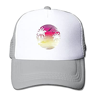 Swesa Paradise Adjustable Snapback Baseball Cap Mesh Trucker Hat from Swesa