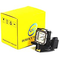 AWO PK-L2210UP Replacement Lamp with Housing for JVC DLA-F110E/DLA-RS40U/DLA-RS45U/DLA-RS4800U/DLA-RS50U/DLA-RS55U/DLA-RS60U/DLA-RS65U