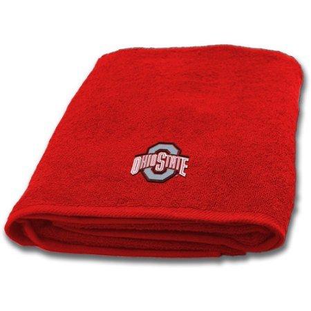 NCAA Ohio State University Decorative Bath Towel, Set of 2